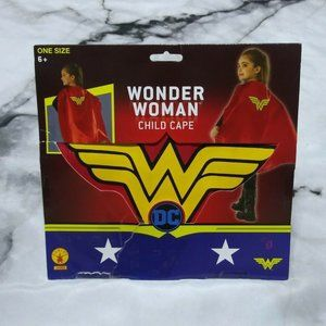 🆕Wonder Woman Child Cape/Cloak Girls Kids Ages 6+